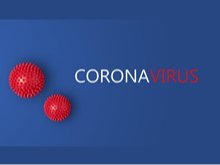Corona virus button
